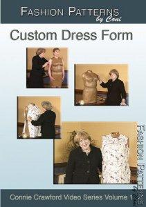 Custom Dress Form DVD